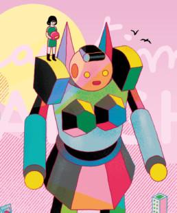 Playtime Shanghai Illustration robot