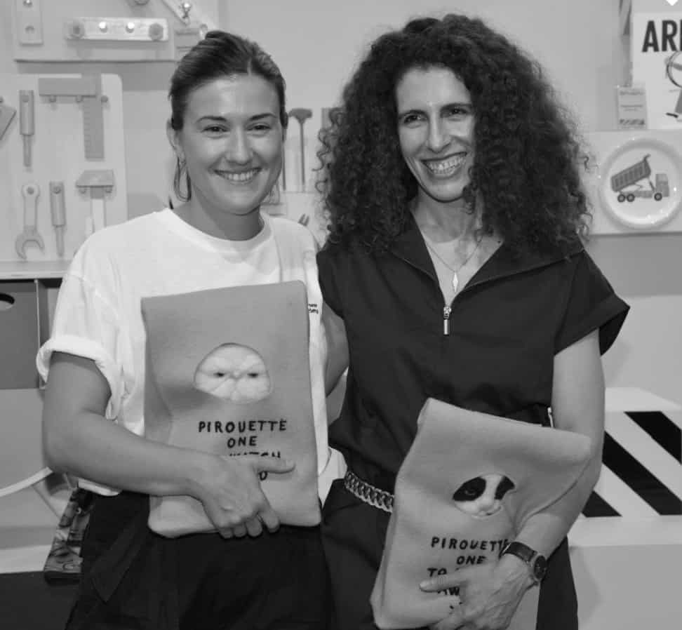 Estefania Grandio, The New Society Pirouette One to Watch winner SS19 fashion at Pitti Bimbo 87