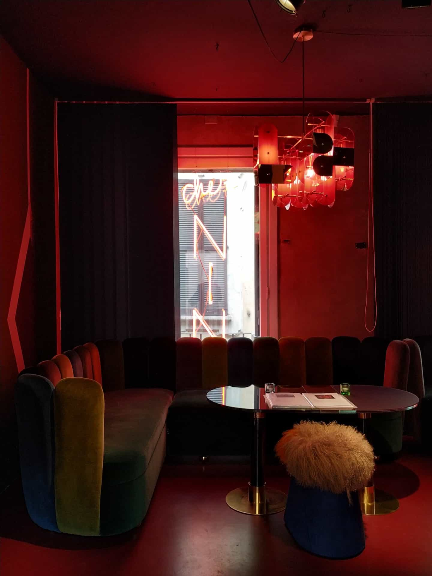 Chez Nina's at NILUFAR Gallery by India Mahdavi at Milan design week 2019 MDW19