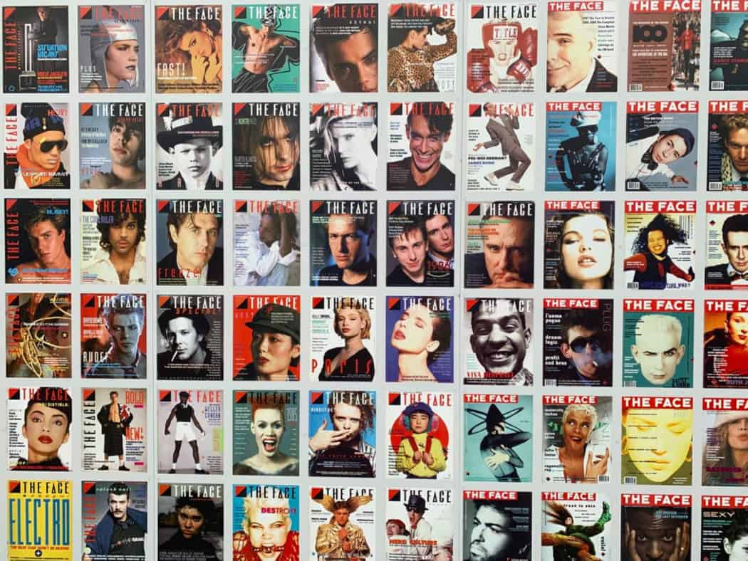 covers of The Face magazine
