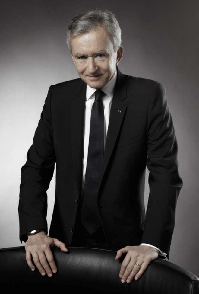 Bernard Arnault chairman and CEO of LVMH