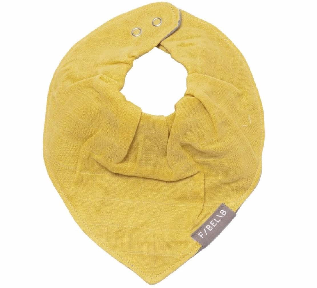 Sugarloaf FABELAB BABY BANDANA BIB IN HONEY
