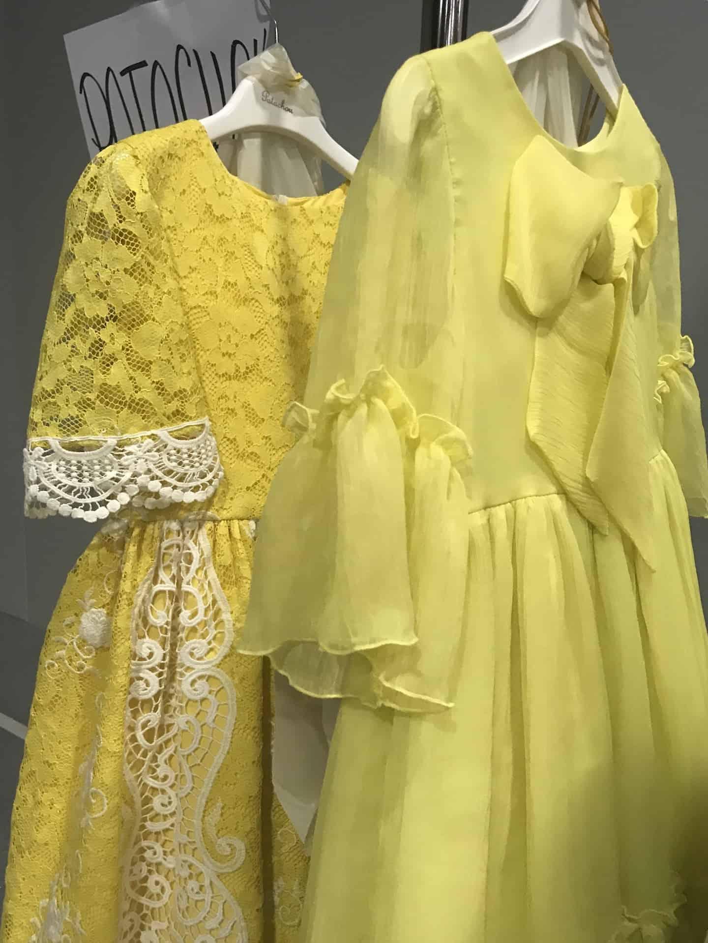 Patachou SS20 kids fashion collection at Pitti Bimbo 89