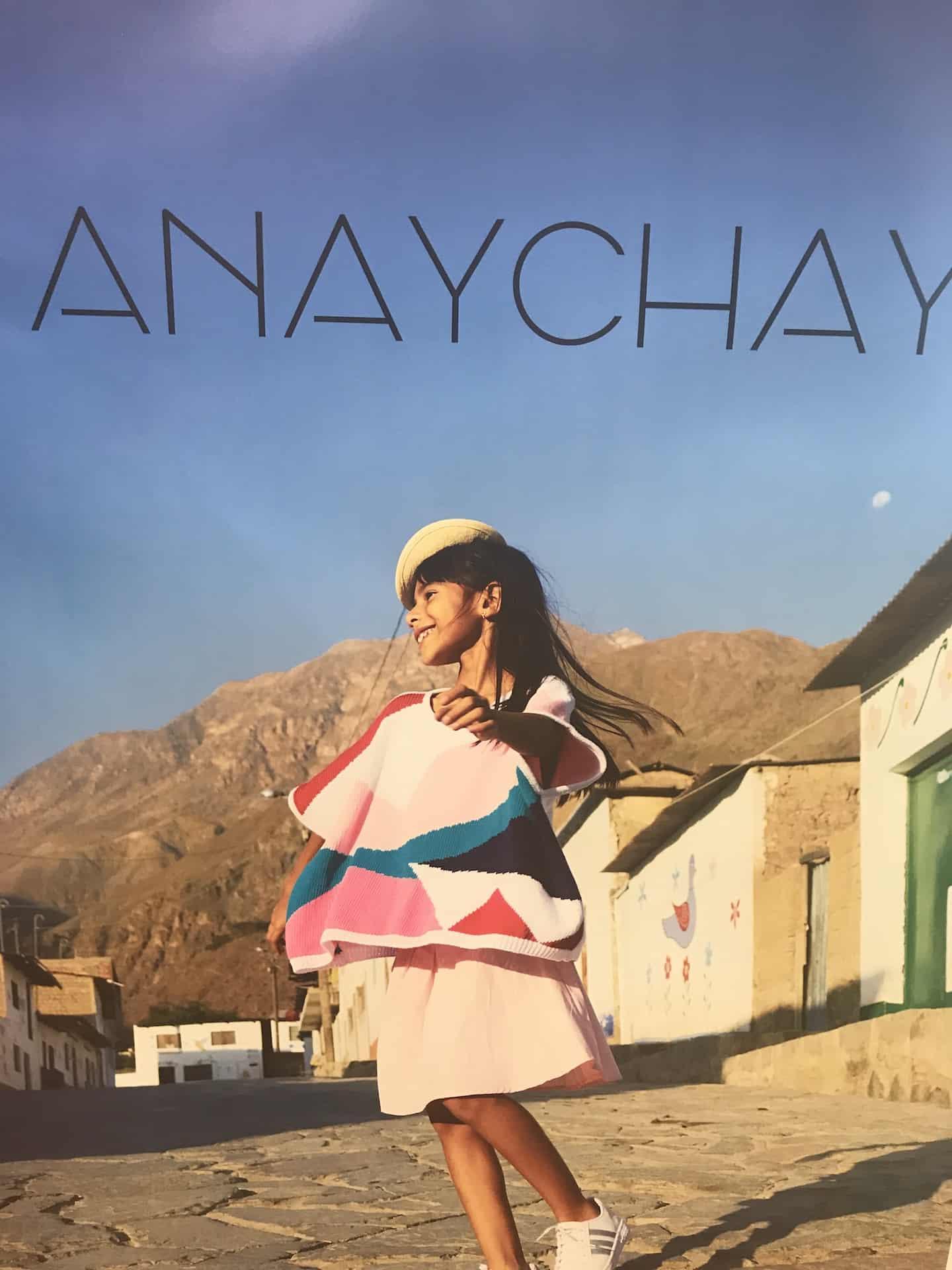 Anaychay SS20 kids fashion collection at Pitti Bimbo 89
