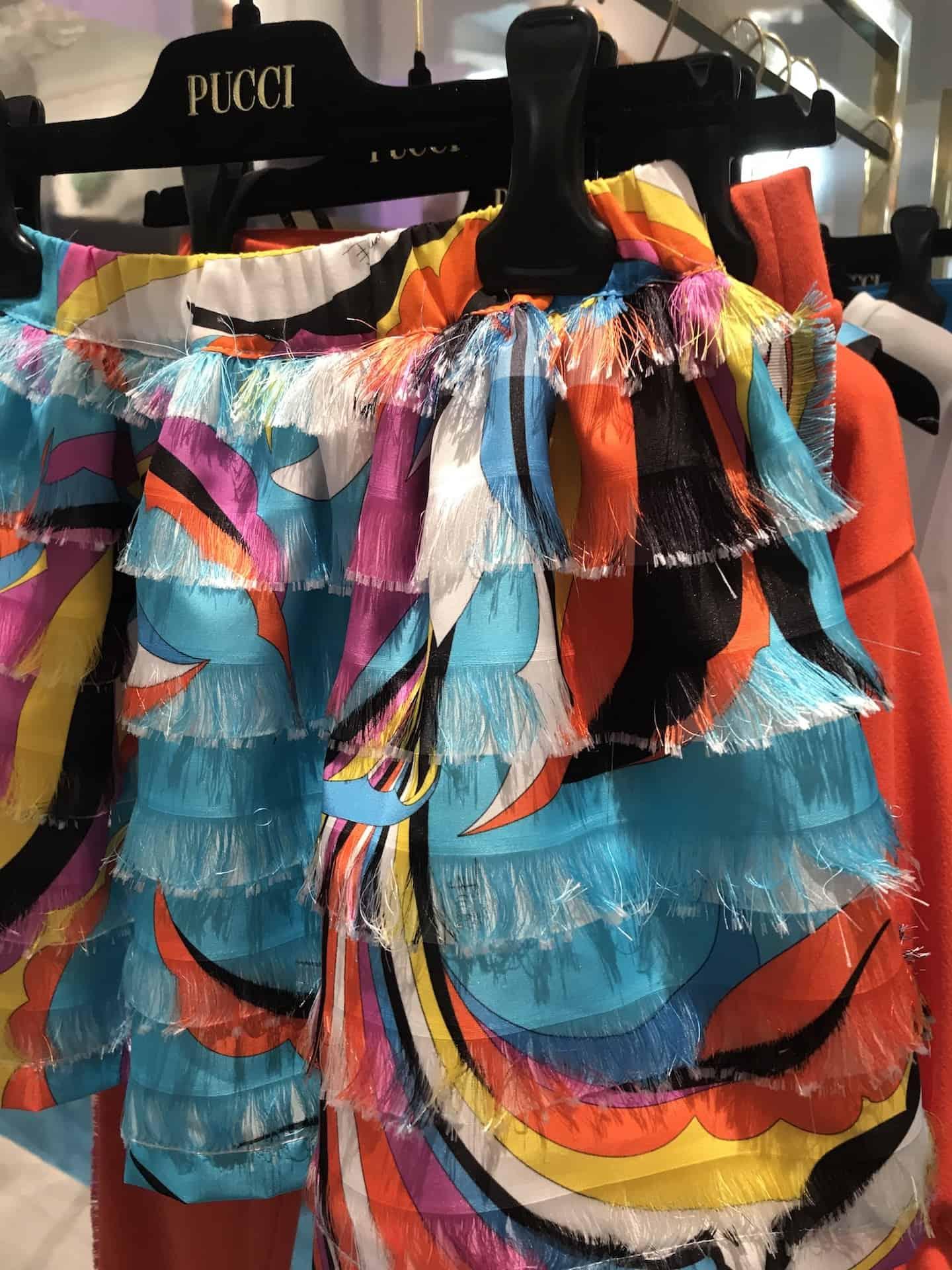 Emilio Pucci SS20 kids fashion collection at Pitti Bimbo 89