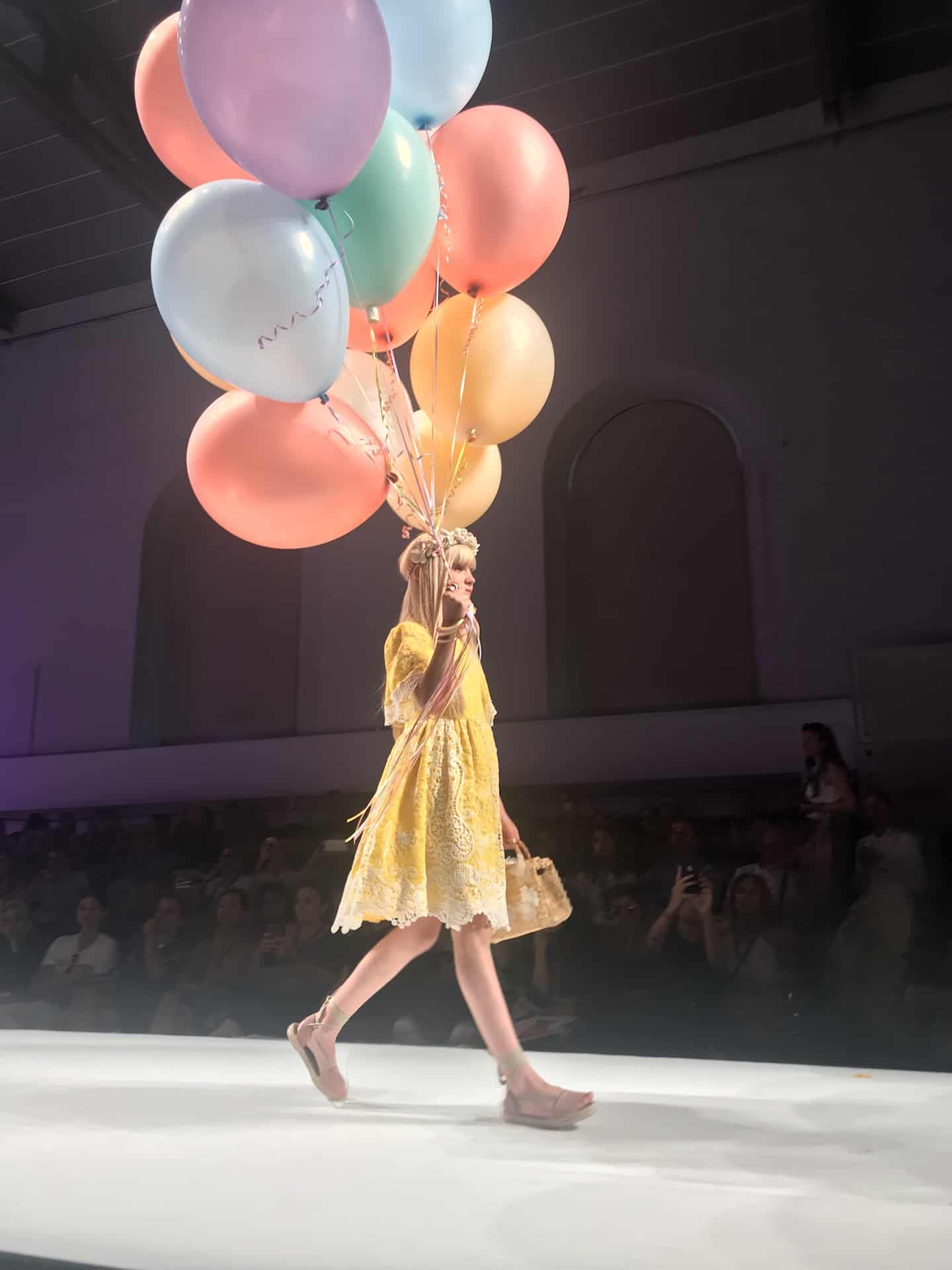 Patachou SS20 kids fashion collection at Pitti Bimbo 89 - kids fashion show