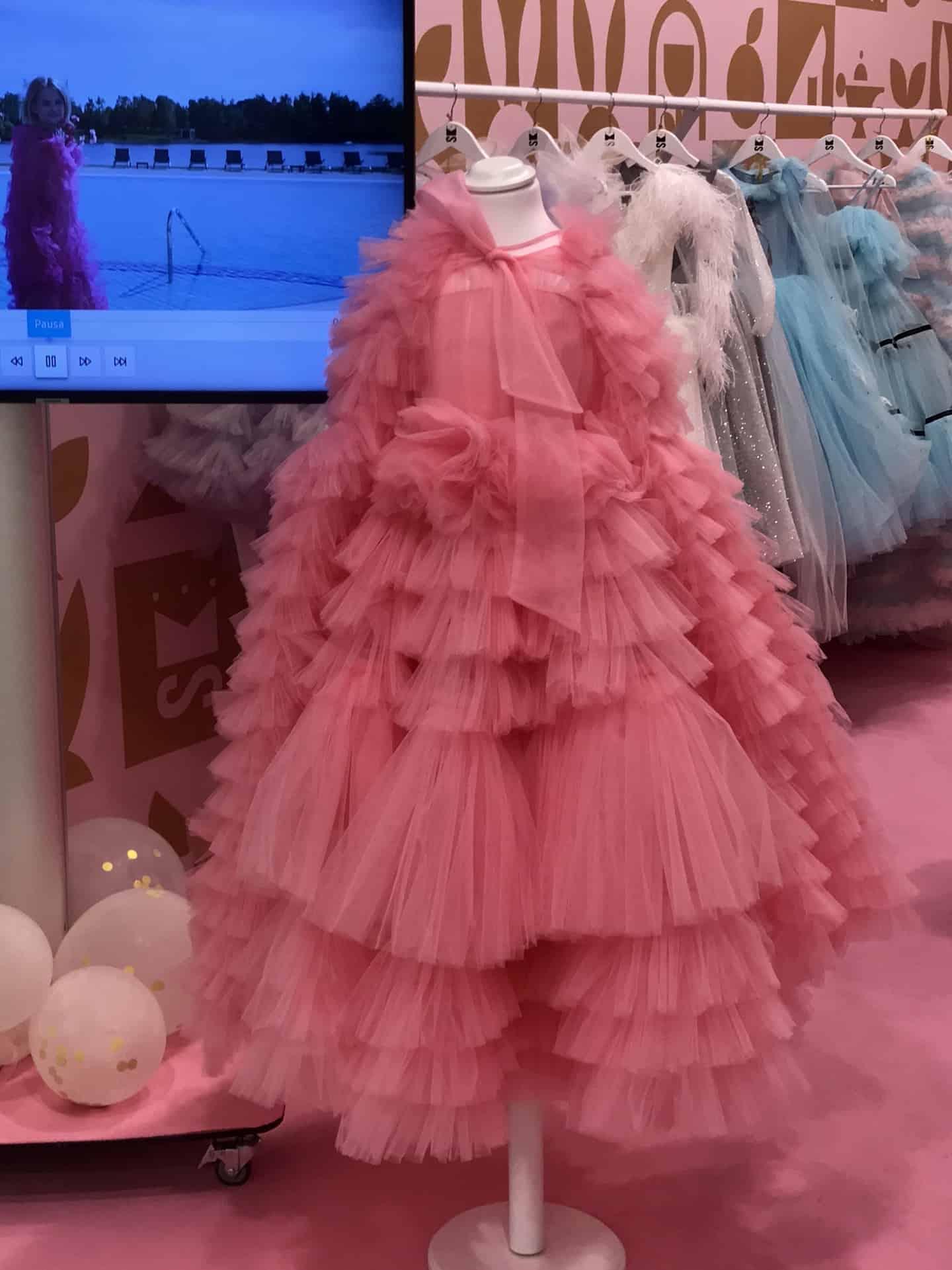 Sasha Kim SS20 kids fashion collection at Pitti Bimbo 89