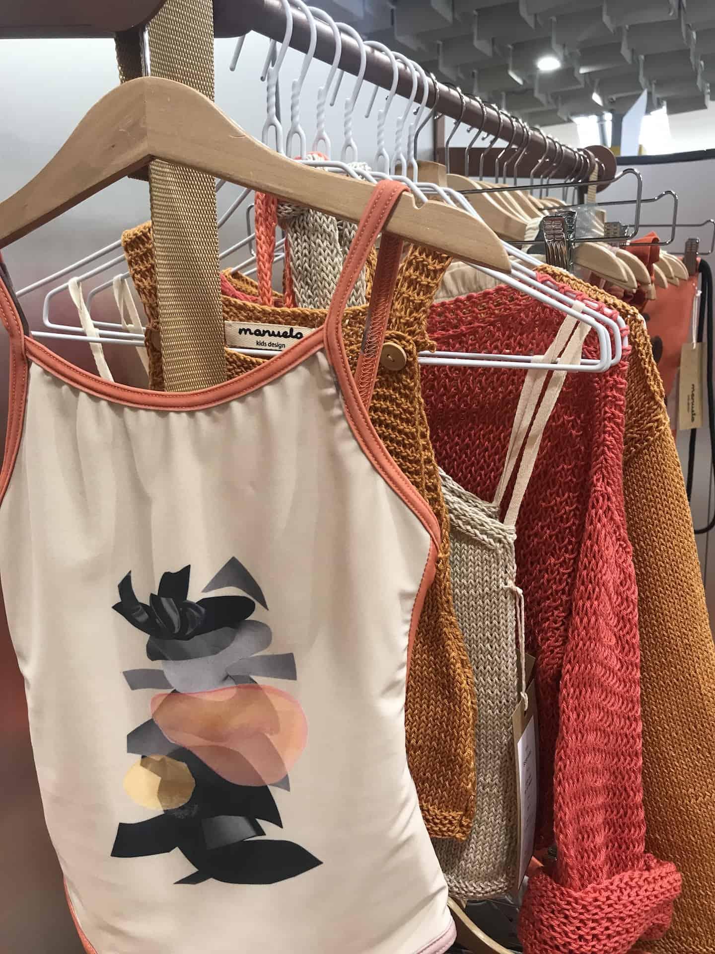Manuela SS20 kids fashion collection at Pitti Bimbo 89