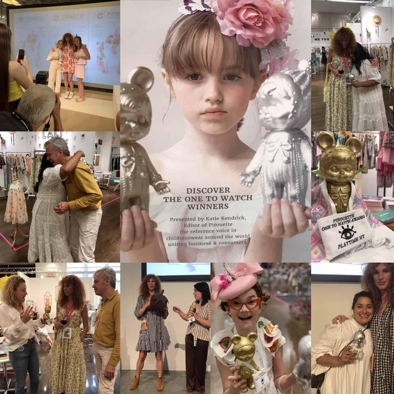 Pirouette One to Watch winners children's fashion SS20