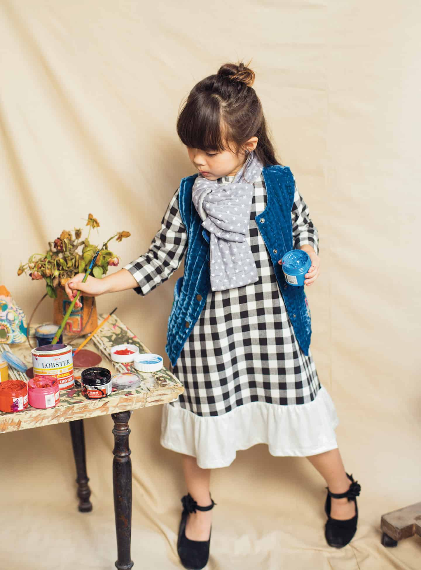 quilting kids fashion Hannah & Tiff collection