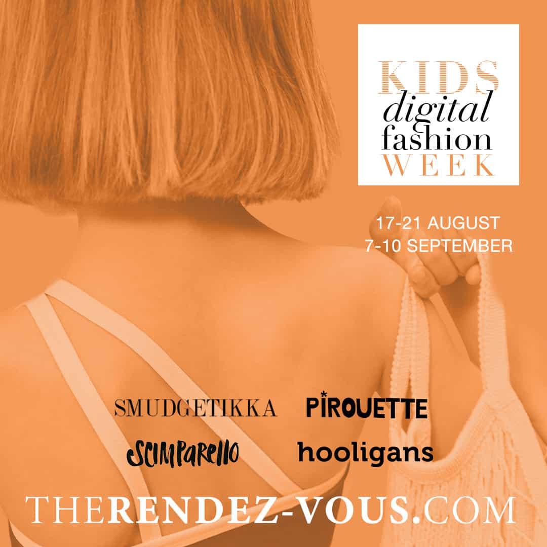 Kids digital fashion week