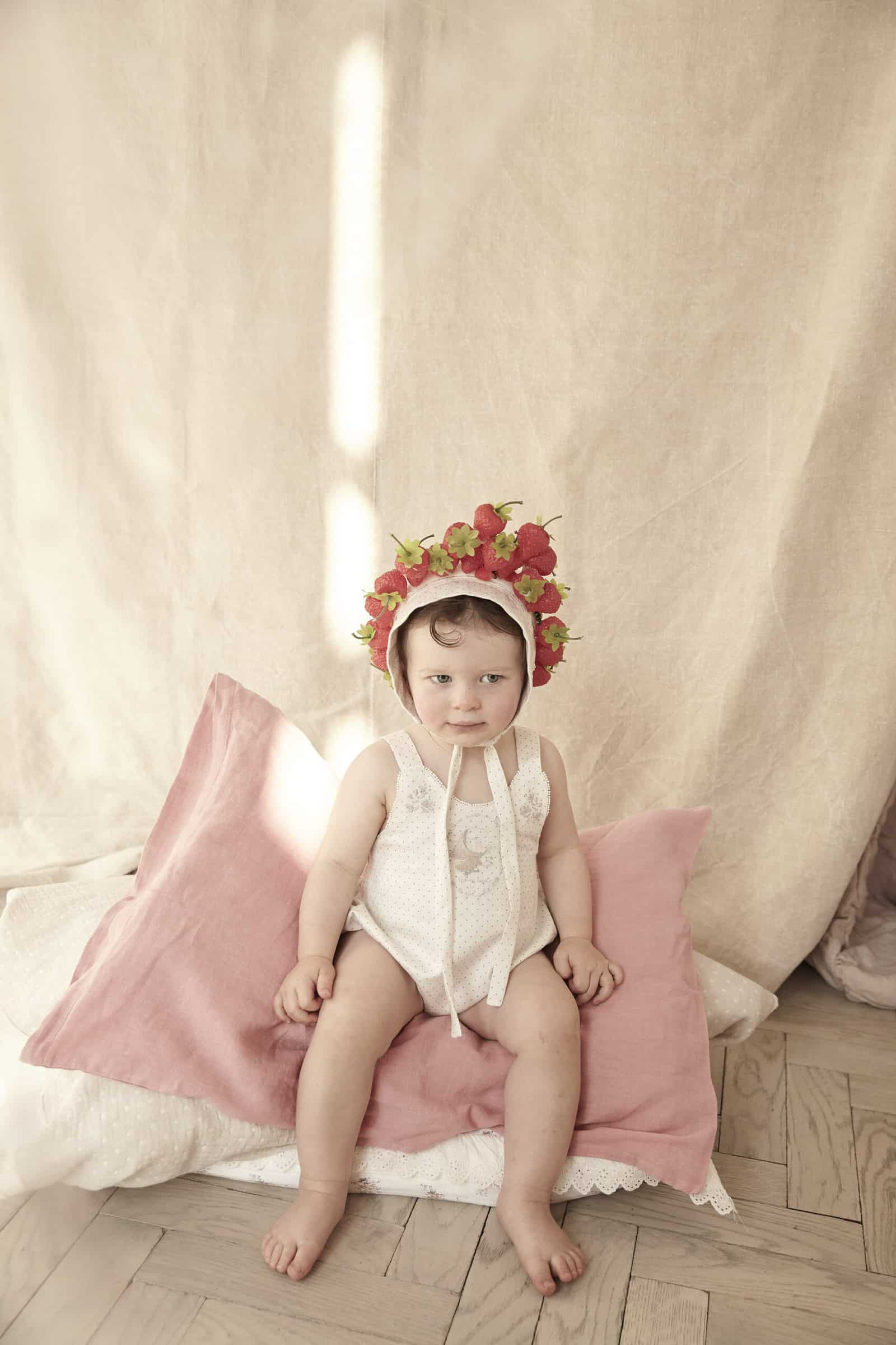 Strawberries and Cream is a luxury British baby and girlswear brand SS21