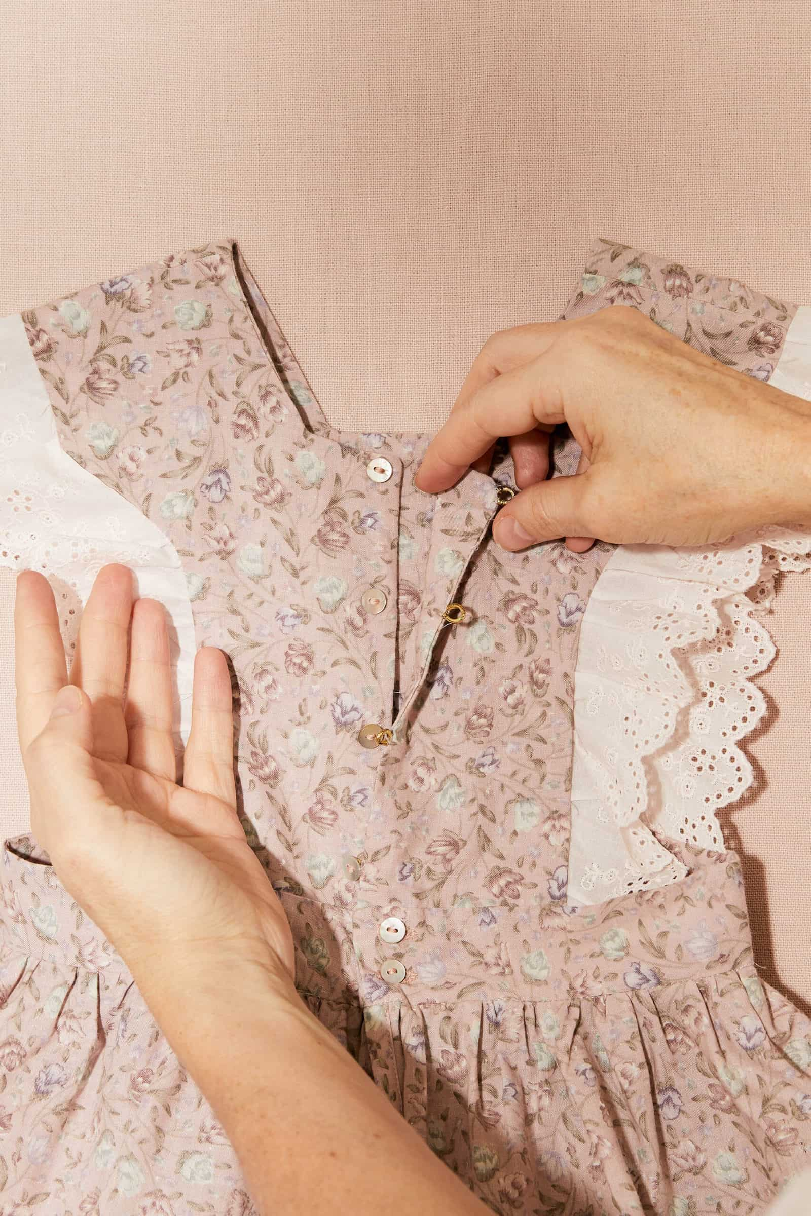vintage fabrics for SS21 by Strawberries & Cream