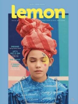 Lemon mag cover
